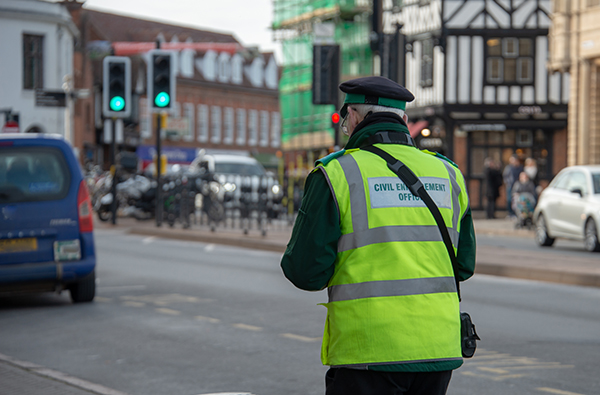 Civil Traffic Enforcement in England