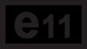 e11 logo